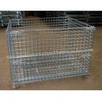 Wholesale Foldable Collapsible Wire Cage1200 X 1000mm For Warehouse from china suppliers
