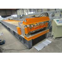 Wholesale 0.6-0.9MM Cold Rolled Roof Sheet Profile Roll Forming Machine Motor Power 7.5KW from china suppliers