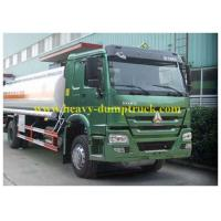 Wholesale Howo Waste Chemical Tanker Truck 10 CBM for Suction Liquid , Fuel Tanker Trailer from china suppliers