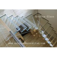 Quality laminated stairs glass,  sandwich stairs glass with CE & ISO & AS/NZS2208:1996 for sale