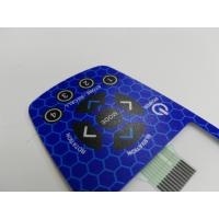 Quality New Design Flat Button Metal Dome Membrane Switch By Silk Screen Ptinting Custom for sale