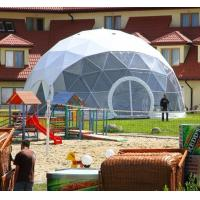Wholesale Transparent Geodesic Galvanized Steel Frame Large Dome Tent 20m Diameter from china suppliers