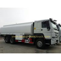 Wholesale 17cbm 6x4 Fuel Oil Tank Truck With HOWO Chassis 336 Hp engine , White color from china suppliers