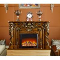 Wholesale Hotel / Club Classical Decorative Electric Fireplace Heater Remote Control from china suppliers