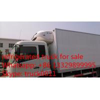 Wholesale hot sale dongfeng tianjin 180hp/190hp refrigerator truck, best price dongfeng brand 15tons cold room truck for sale from china suppliers