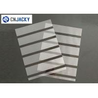 Wholesale A4 0.08mm Coated Overlay Film Smart Card Material Magnetic Strip With Hi-Co Lo-Co from china suppliers