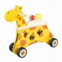Wholesale Animal Shape Sorter Ride-on with Padding Seat from china suppliers