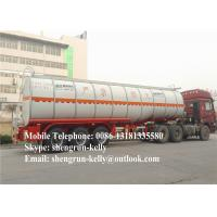 Wholesale 40000L 50000 Liters fuel tank trailer / diesel oil petrol tanker semi trailer from china suppliers