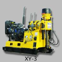 Wholesale XY-3 portable water well drilling rig mounted on truck from china suppliers