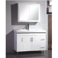 Wholesale Elegant Free Standing High Gloss White Color MDF Bathroom Vanity  (BL-H1200) from china suppliers