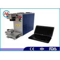 Wholesale Portable Hand Held CNC Steel / Fiber Laser Marking Machine 30W / 50W from china suppliers