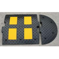 Wholesale rubber road hump 500*500*50mm speed bump speed breaker from china suppliers