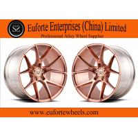 Wholesale Brush 18-22 inch 2 piece custom forged wheels for BMW M3 / M4 / M5 from china suppliers