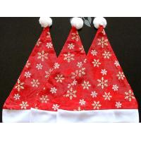 Snow Fashion Design Christmas Hat with High Quality Christmas Cap