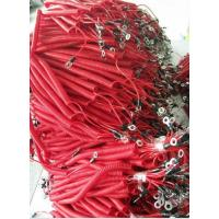 Wholesale Fashion beatuiful red fishing lanyard China factory offer spring holder with 2eyelet ends from china suppliers