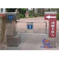 Wholesale Passage Bidirectional Mechanism swinging  Barrier Gate with RFID card / fingerprint from china suppliers