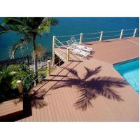Wholesale Outdoor Decking Flooring Backyard Pools WPC Composite Decking from china suppliers