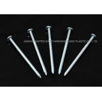 "Wholesale Flat Head 8d Galvanized Ring Shank Nails 1"" - 6"" Sharp Point For Wooden from china suppliers"