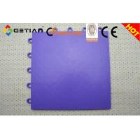 Wholesale Promotional Purple Portable Vinyl Sports Interlocking Gym Flooring For Yard, Garden from china suppliers