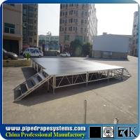 Buy cheap indoor concert stage design, outdoor aluminum dance stage from wholesalers