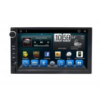 Buy cheap Automotivo Universal Double Din Car Dvd Player , Central GPS DVD 7 Inch Touch Screen from wholesalers
