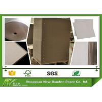 Wholesale SGS Certified Gray Paperboard Straw Board Paper Uncoated Recycled Folding Resistance from china suppliers