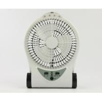 Wholesale Small Portable Rechargeable Battery Operated Fan With Adjustable Base from china suppliers