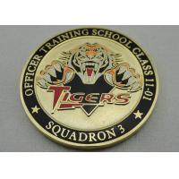 Wholesale Double Sided Officer School Personalized Coins with synthetic enamel and Gold, Copper, Silver Plating from china suppliers