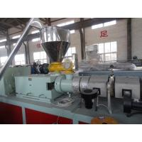 Wholesale WPC Machinery Wood Plastic Extrusion Lines For Indoor Decration Material from china suppliers