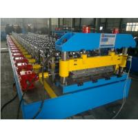 Wholesale Trapezoidal Roof Steel Tile Forming Machine With Chain Transmission from china suppliers