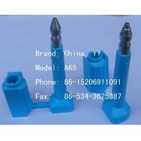 Wholesale high security plastic coated bolt seal from china suppliers