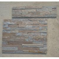 Wholesale Rustic Quartzite Z Stone Panel Natural Stone Cladding Quartzite Stone Veneer Fireplace Stacked Stone from china suppliers