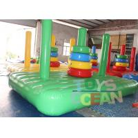 Wholesale Customized Color Inflatable Ring Toss Game Ring Toss Inflatable Challenge Games from china suppliers