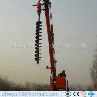 Wholesale High duty Pole Erection Machine Auger Crane from china suppliers