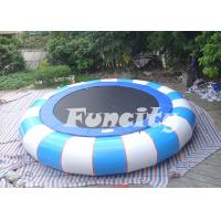 Wholesale PVC Tarpaulin Inflatable Water Trampoline For Pool , 3m-7m Dimensions from china suppliers