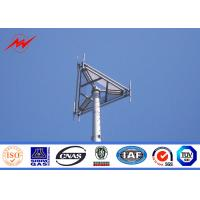 Buy cheap Round Conical Type 30M Mono Pole Tower Communication Distribution Monopole Cell Tower from wholesalers