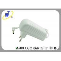 Wholesale 18W 2 Pins Wall Mount Power Adapter with Right Angle DC Jack from china suppliers