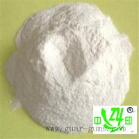 Wholesale 5500 – 6000 cps food thickener guar gum powder with white a bland taste from china suppliers