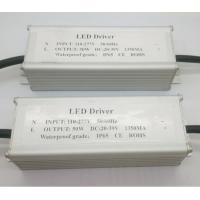 Wholesale Constant Current 50W LED Driver IP65 For Indoor / Outdoor Waterproof Power Supply from china suppliers