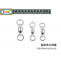 Wholesale River Sea Stainless Steel Fishing Swivels / ball bearing swivel fishing from china suppliers
