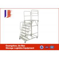 Wholesale Removeable Steel Platform Truck Step Ladder For Order Picker , Capacity 500kg from china suppliers