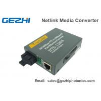 Wholesale Fast Ethernet Media Converter Fiber Optics Components Single Mode HTB-1100S from china suppliers