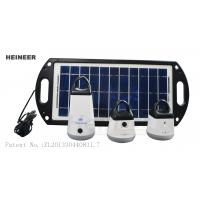 Wholesale House solar lighting with 8W solar panel,professional solar lights manufacturer, from china suppliers