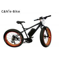 Wholesale Black Color Electric Fat Tire Sand Bike With Electric Mid Drive Motor from china suppliers