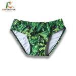 Wholesale Wholesale custom printing lycra/spandex swimwear men swim briefs from china suppliers