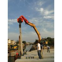 Wholesale TYSIM VS350 Excavator Mounted Pile Driver / Pile Driving Hammer 2.3t - 3.5t from china suppliers