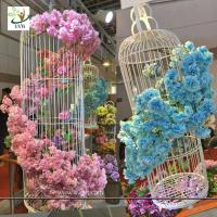 Wholesale UVG silk flower arrangement in artificial blossom tree branches wedding backdrops material from china suppliers