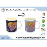 Wholesale Ceramic Heat Reactive Mugs , Christmas Gift Personalised Magic Mugs from china suppliers