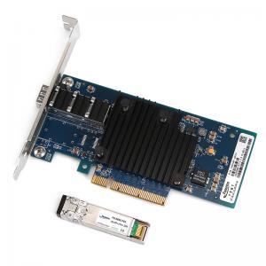 Quality 10G1BF-SFP+ Intel 82599 Chipset PCI Eexpress x8 Single Port 10G Ethernet LAN Card Fiber Optical Server NIC for sale
