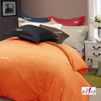 Buy cheap Orange Complete Full Size Custom Queen Microfiber Duvet Bedding Sets from wholesalers